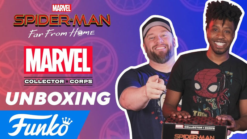 Amazon Spider-Man: Far From Home Unboxing!