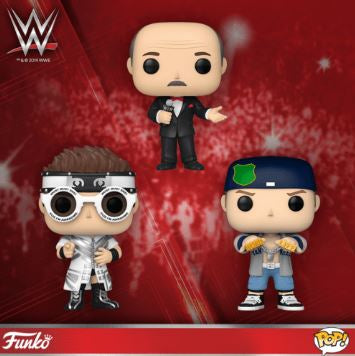 Coming Soon: Pop! WWE!
