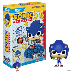 Pop Cereal Sonic the Hedgehog - Sonic GameStop