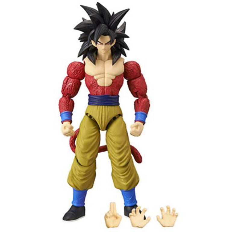 Bandai Dragon Ball Stars Super Saiyan 4 Goku Action Figure - ShopPopONLINE