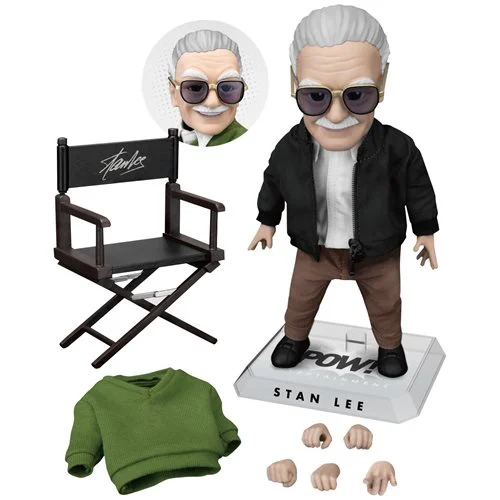Beast Kingdom Stan Lee EAA-092 Egg Attack Action Figure - ShopPopONLINE