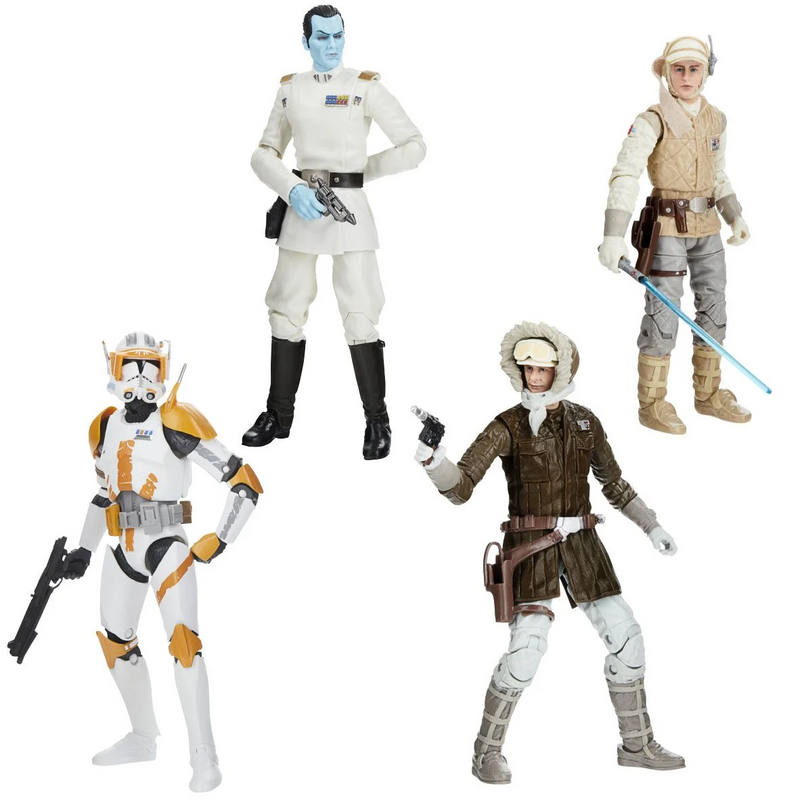Hasbro Star Wars The Black Series Archive Action Figures Wave 1 Set - ShopPopONLINE