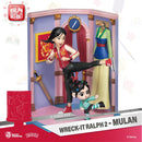 Beast Kingdom - Wreck-It Ralph 2 DS-054 Mulan D-Stage Series 6 Statue - ShopPopONLINE