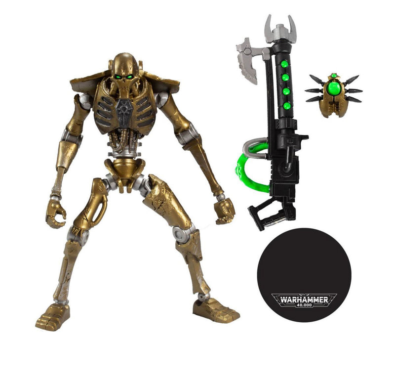 Mcfarlane Toys Warhammer 40000 Series 1 Necron Warrior 7-Inch Action Figure - ShopPopONLINE