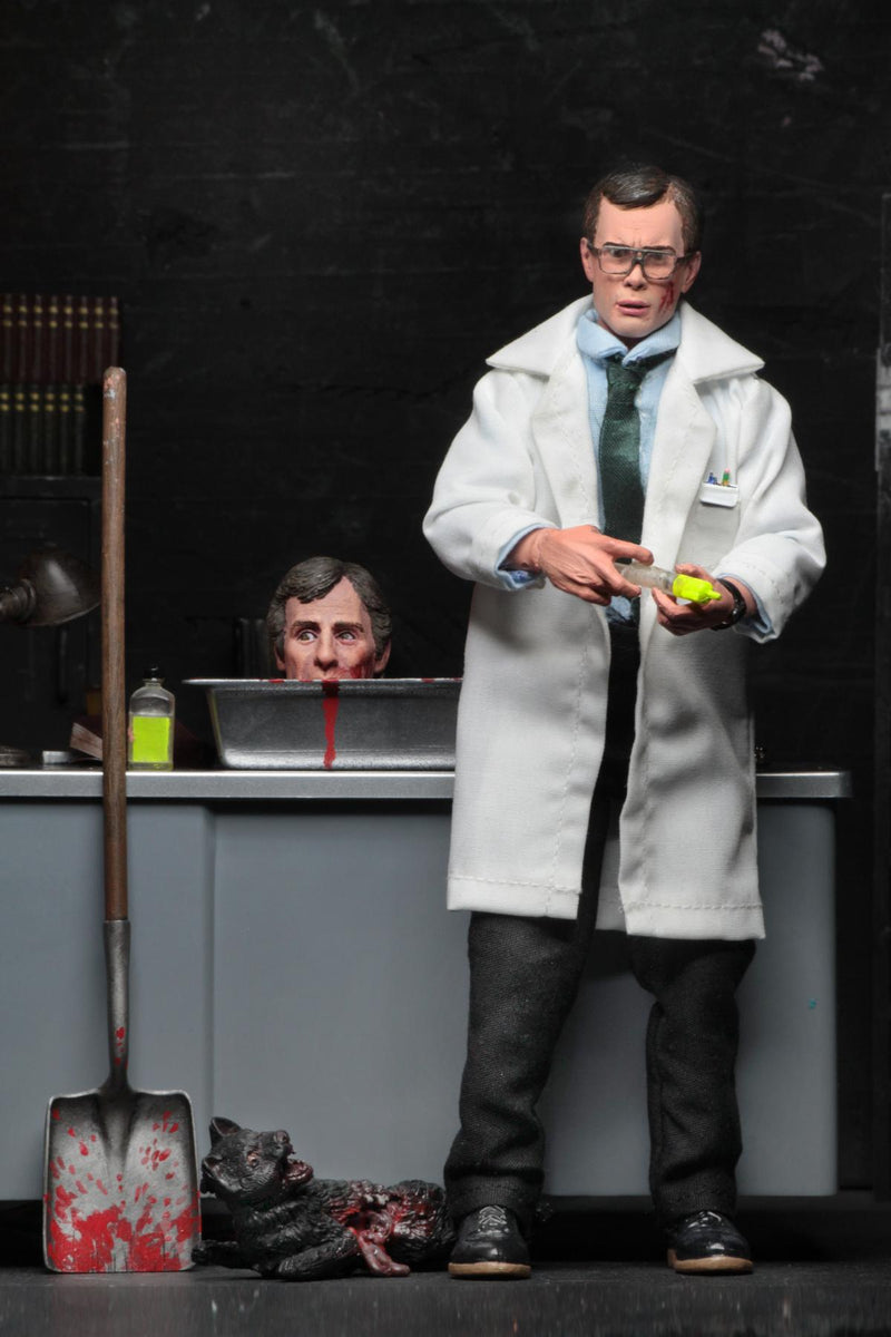 "NECA Re-Animator - 8"" Clothed Figure - Herbert West - ShopPopONLINE"