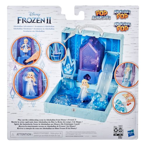 Hasbro Frozen 2 Pop Adventures Ahtohallan Pop-Up Playset - ShopPopONLINE