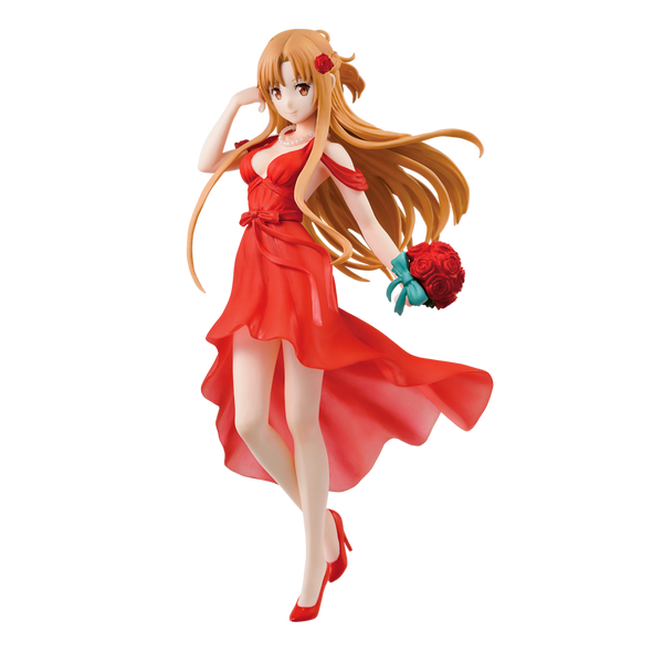 Bandai Tamashii Nations Sword Art Online: Asuna Party Dress Ichiban Figure - ShopPopONLINE