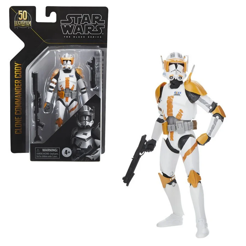 Hasbro Star Wars The Black Series Archive Clone Commander Cody 6-Inch Action Figure - ShopPopONLINE