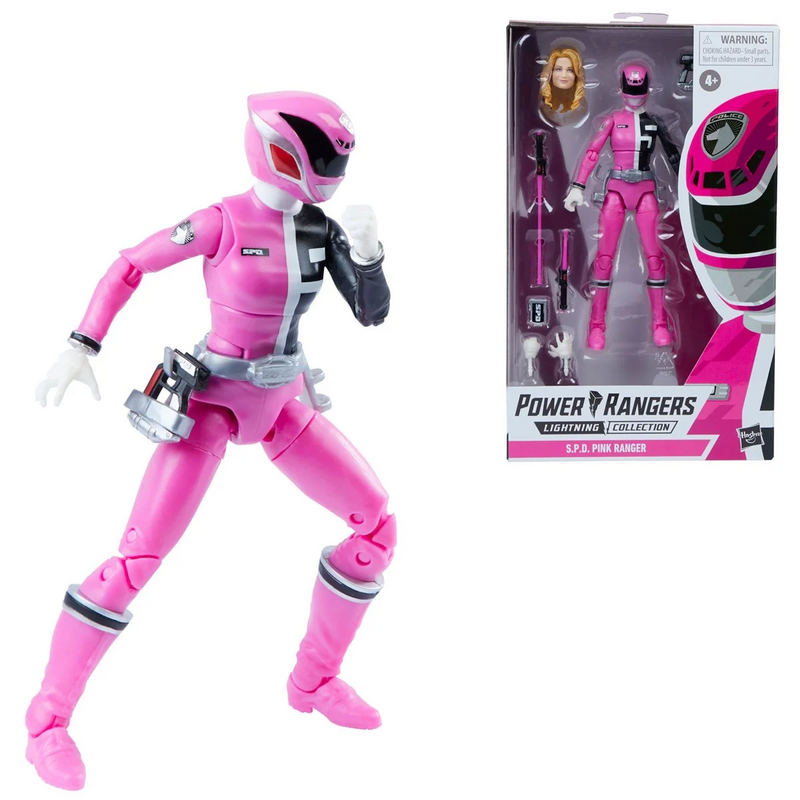 Hasbro Power Rangers Lightning Collection S.P.D. Pink Ranger 6-Inch Action Figure - ShopPopONLINE