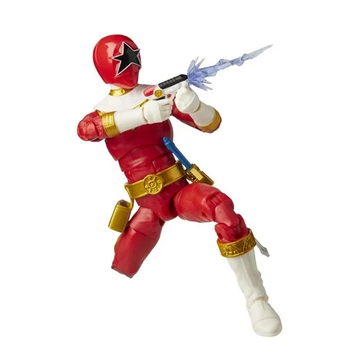 Hasbro Power Rangers Lightning Collection Zeo Red Ranger 6-Inch Action Figure - ShopPopONLINE