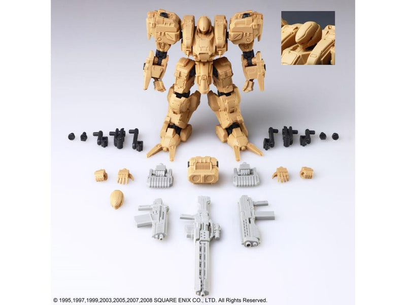 Square Enix - Front Mission Structure Arts 1/72 Mdl Kit Series Vol 14pc DS - ShopPopONLINE