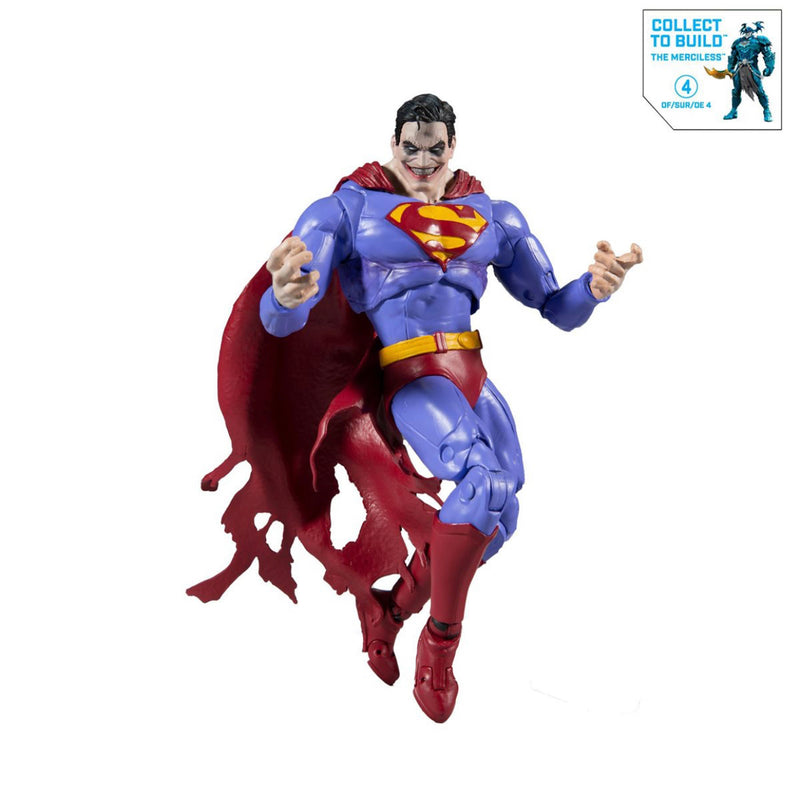 Mcfarlane Toys DC Multiverse Collector Wave 2 Infected Superman 7-Inch Action Figure - ShopPopONLINE