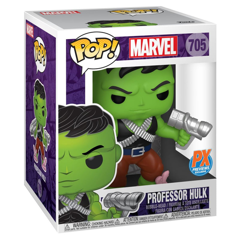 Funko Pop! Marvel Heroes Professor Hulk 6-Inch and The Immortal Hulk
