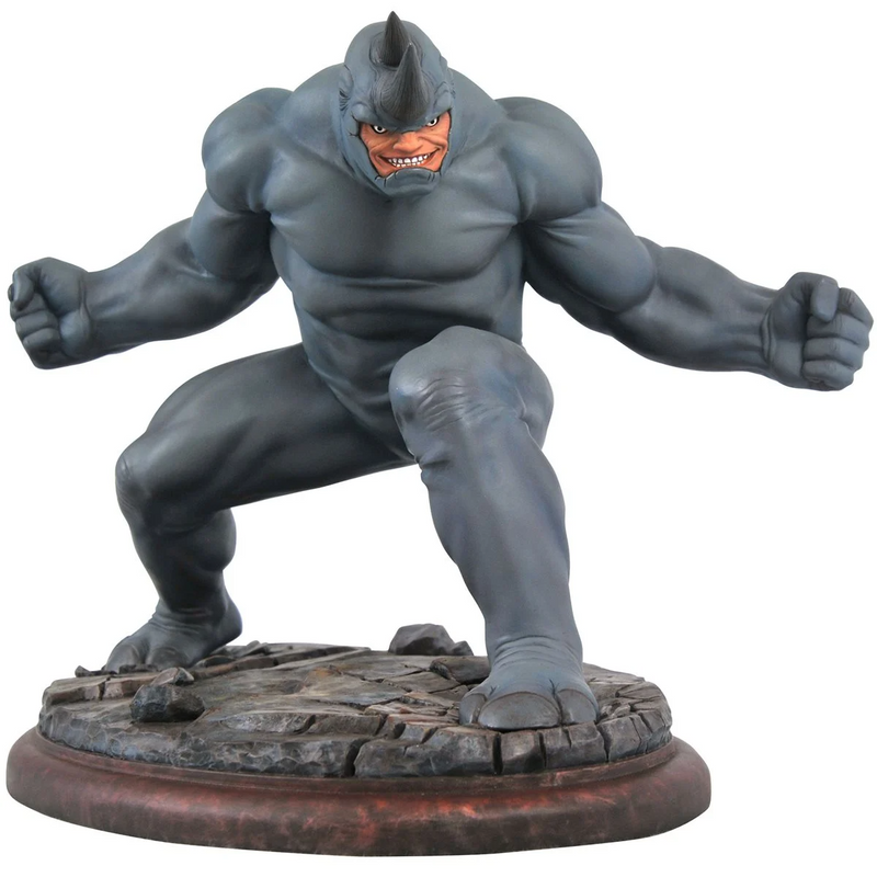Diamond Select Marvel Premier Collection Rhino Statue - ShopPopONLINE