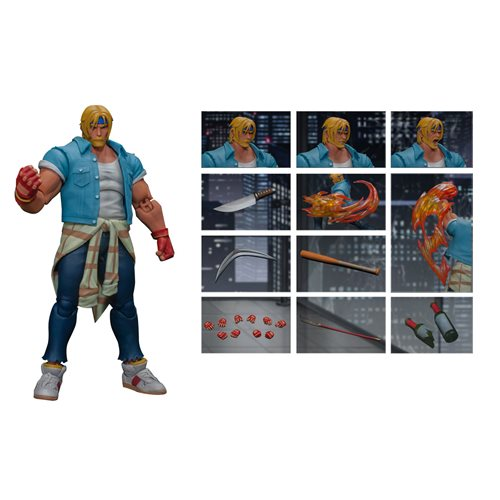 Storm Collectibles Streets of Rage 4 Axel Stone 1:12 Scale Action Figure - ShopPopONLINE