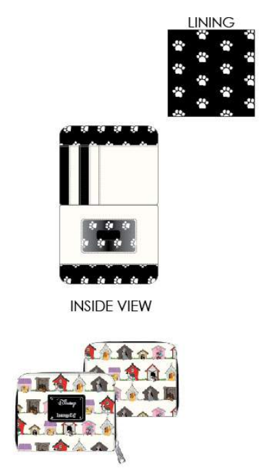 Loungefly Disney DogHouses Wallet - ShopPopONLINE
