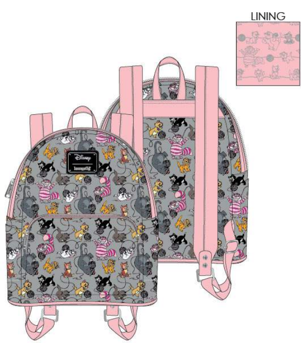 Loungefly Disney Cats Backpack - ShopPopONLINE