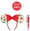 Loungefly Disney Christmas Mickey And Minnie Cookie Ears - ShopPopONLINE
