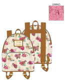 Loungefly Disney Princess Floral Backpack - ShopPopONLINE