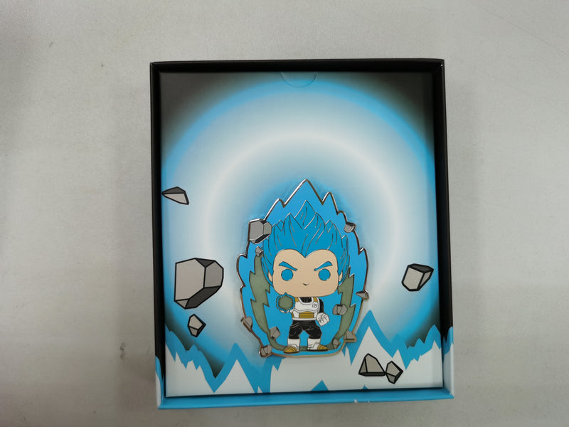 Pop! Pin Animation: Dragon Ball Super - Super Saiyan God Super Saiyan (SSGSS) Vegeta Glow in the Dark SPO Exclusive Limited Edition 600 pcs - ShopPopONLINE