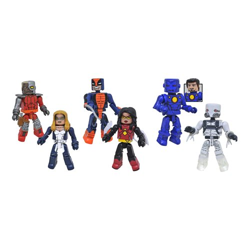 Diamond Select Marvel Minimates Series 80 Mini-Figure Set - ShopPopONLINE