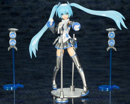 Kotobukiya Frame Arms Girl Frame Music Girl Snow Miku - ShopPopONLINE
