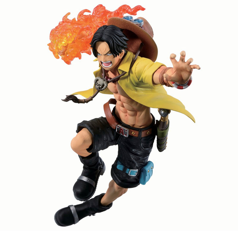 Tamashii Nations One Piece Portgas D Ace Dynamism of Ha Ichiban Statue - ShopPopONLINE