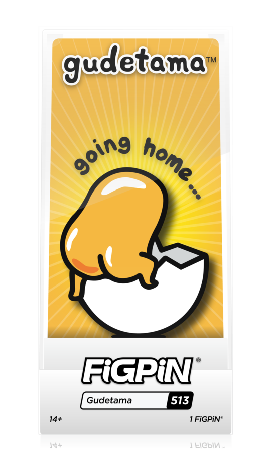 FiGPiN Gudetama [Going Home]