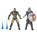 "Hasbro Avengers Figures - Marvel Gamerverse - 6"" Iron Man And Task Master 2-Pack - ShopPopONLINE"