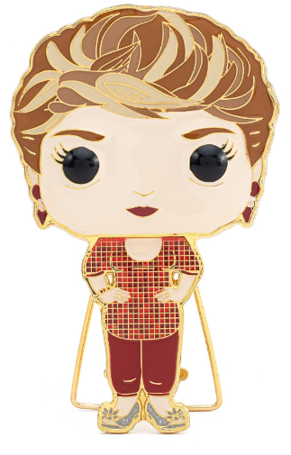 Funko Pop! Pins: Golden Girls - Large Enamel Pin - Blanche Devereaux - ShopPopONLINE
