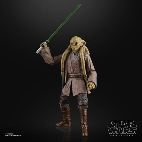Hasbro Star Wars The Black Series Kit Fisto 6-Inch Action Figure - ShopPopONLINE