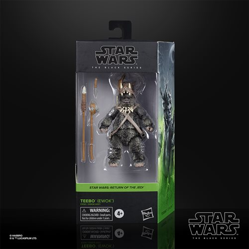 Habro Star Wars The Black Series Teebo the Ewok 6-Inch Action Figure - ShopPopONLINE