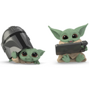 Hasbro Star Wars The Mandalorian Baby Bounties Helmet Peeking and Datapad Tablet Mini-Figures - ShopPopONLINE