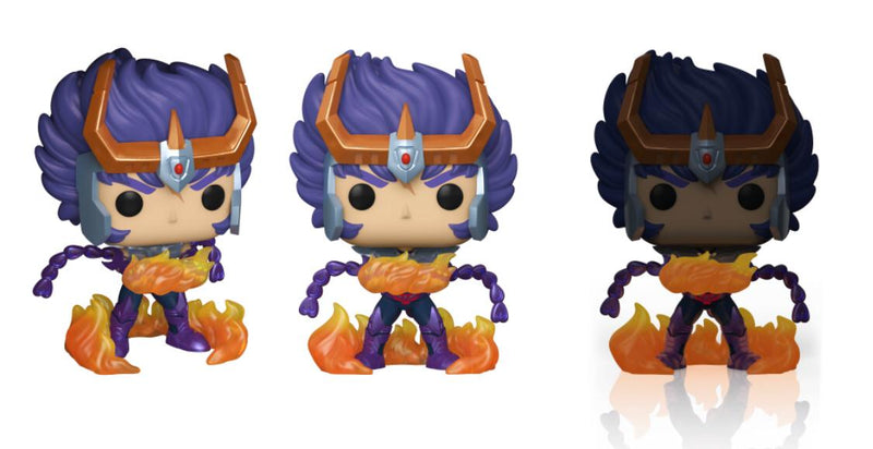 Funko Pop! Animation: Saint Seiya - Phoenix Ikki (GITD) Special Edition Exclusive - ShopPopONLINE