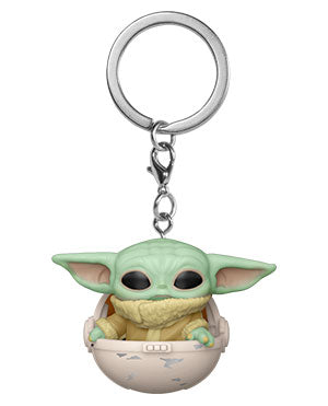 Funko Pop! Keychain: Star Wars - The Mandalorian- The Child in Canister - ShopPopONLINE