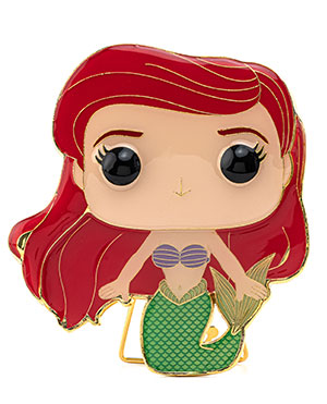 Funko Pop Pin: DISNEY WAVE 3 - LG ENML PIN – Ariel - ShopPopONLINE