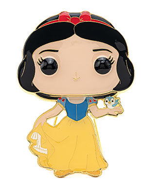 Funko Pop Pin: DISNEY WAVE 3 - LG ENML PIN – Snow White - ShopPopONLINE