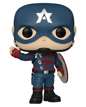 Funko Pop! Marvel: The Falcon and the Winter Soldier - John F. Walker - ShopPopONLINE