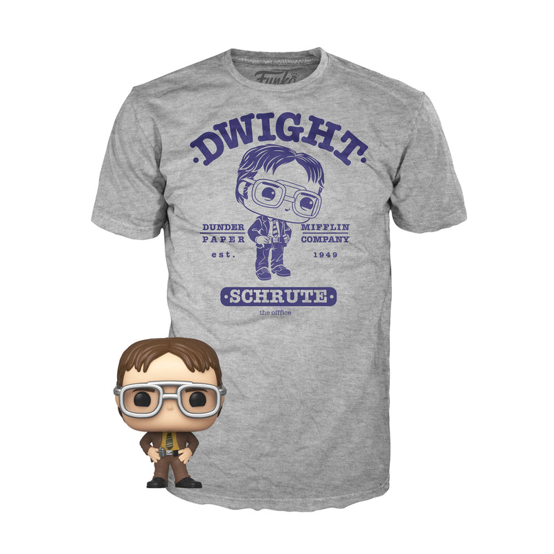Funko Pocket POP & Tee: The Office - Dwight - ShopPopONLINE