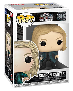 Funko Pop! Marvel: The Falcon and the Winter Soldier - Sharon Carter - ShopPopONLINE