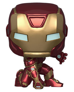 Funko POP Marvel: Avengers Game - Iron Man (Stark Tech Suit) - ShopPopONLINE