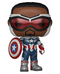 Funko POP Marvel: The Falcon and the Winter Soldier- Captain America - ShopPopONLINE