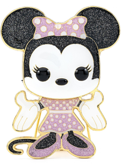 Funko Pop! Pins: Disney - Large Enamel Pin - Minnie Mouse - ShopPopONLINE