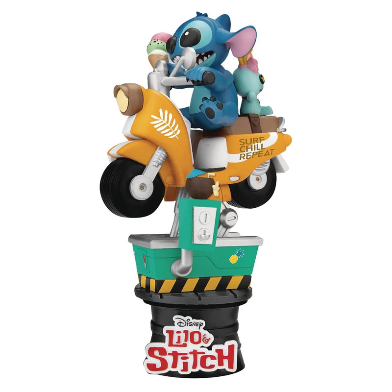 Beast Kingdom - Coin Ride DS-041 Stitch D-Stage Series 6 Statue - ShopPopONLINE