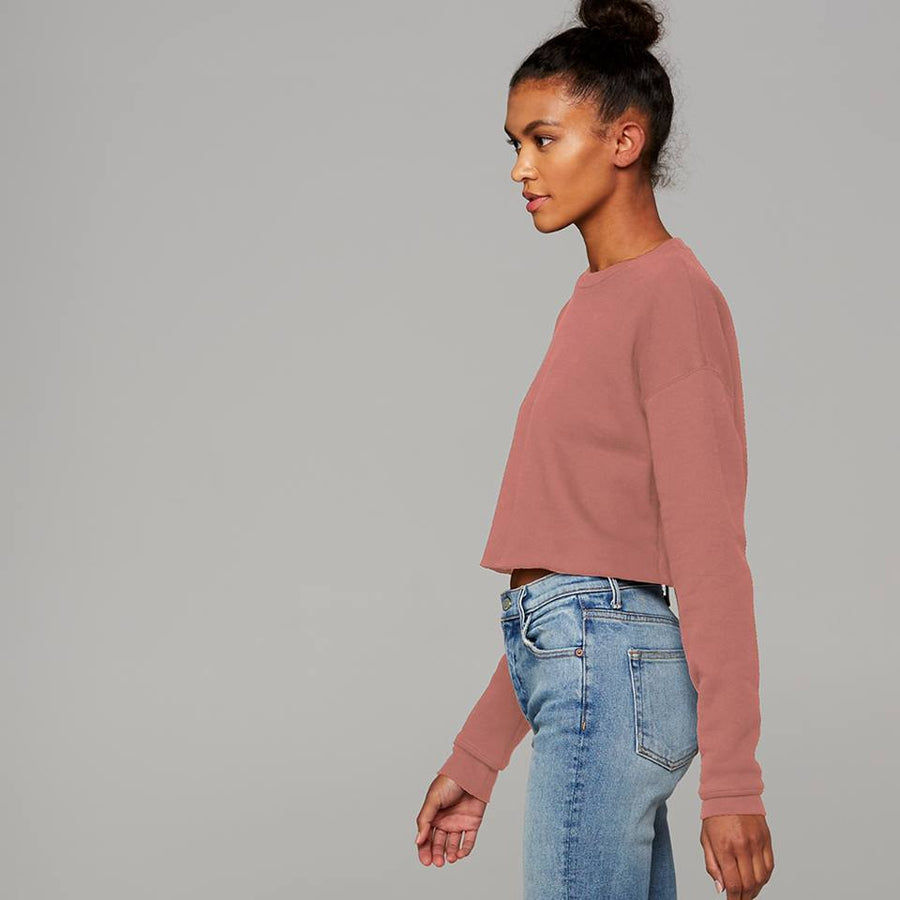 Fearfully Made Crop Sweatshirt