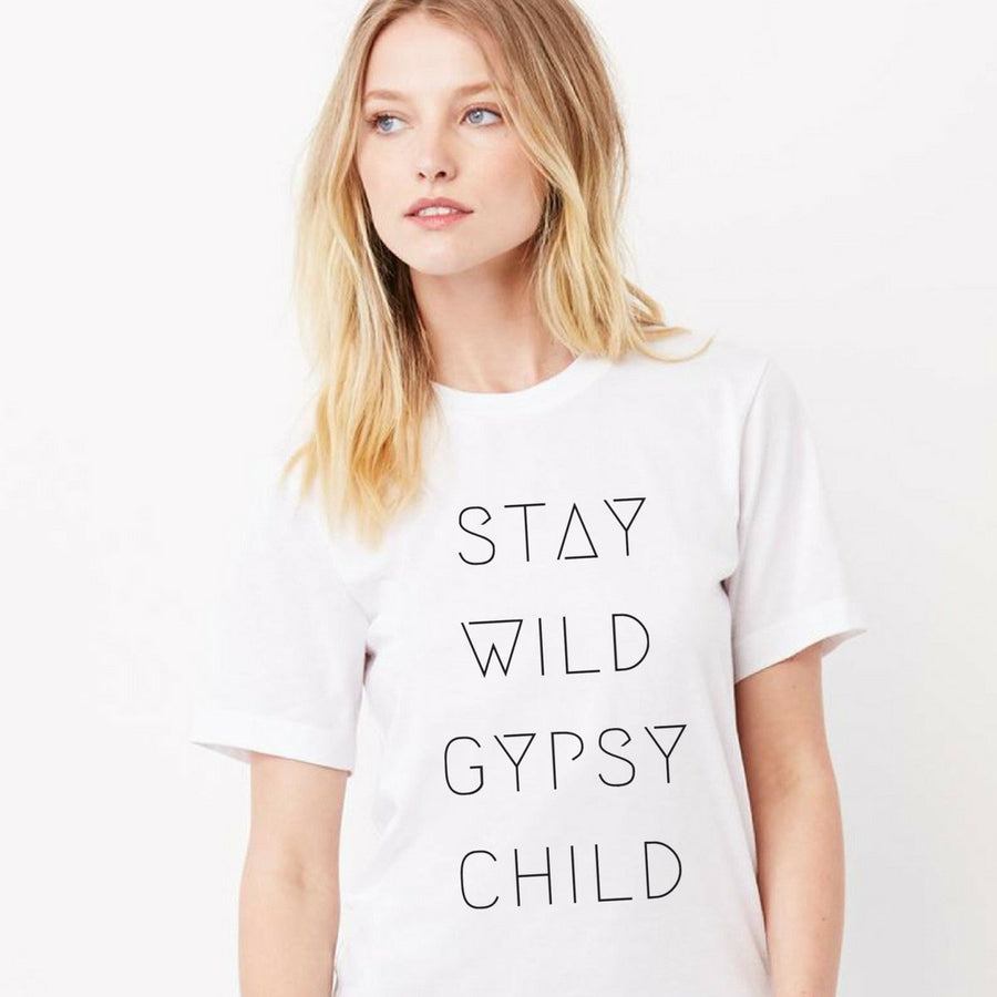 Stay Wild Gypsy Child Tee
