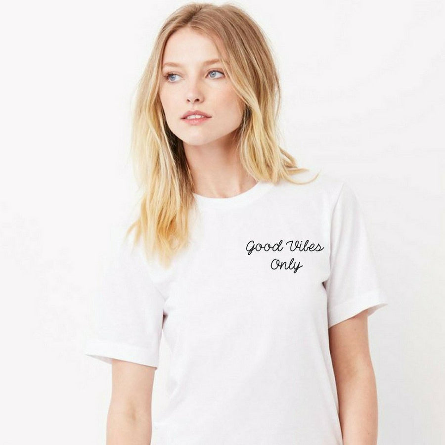 Good Vibes Only Boyfriend Tee