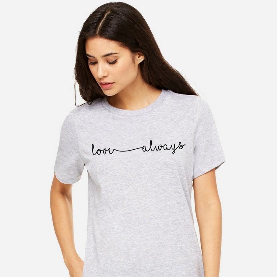 Love Always Boyfriend Tee