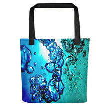 "Load image into Gallery viewer, A spacious tote bag featuring our popular ""Traits of Knowing"" design."