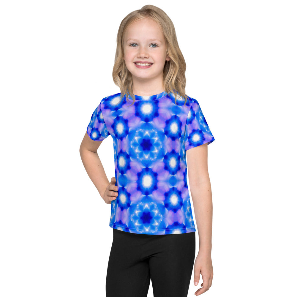 Living Light Designs presents 'Starseed' Design on a unique all over printed Kids T Shirt